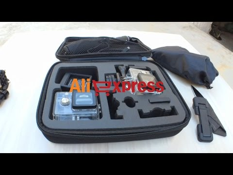 Medium size travel storage bag for GoPro - Xiaomi Yi - SJ4000 Aliexpress.com