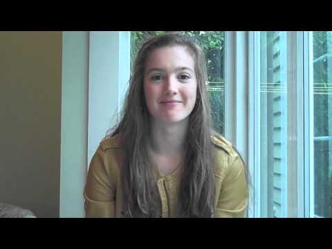 Clemency Johnstone - World Vision Youth Ambassador Application Video 2011