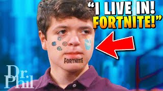 Dr. Phil Can't Stand This Fortnite Addicted Kid