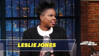 Leslie Jones Wants Oprah to Run for President