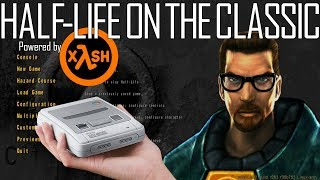 [OUTDATED] Putting Half-Life to the test on the SNES Classic! | Powered by xash3d