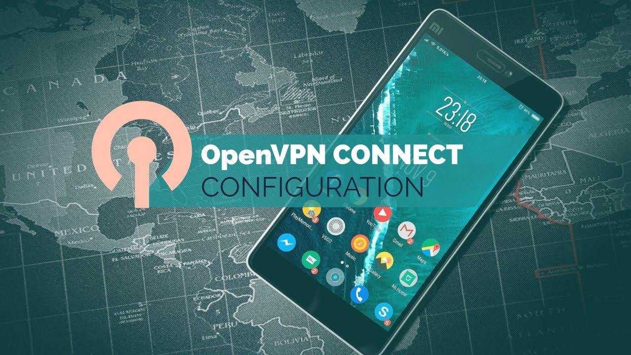 Android VPN Connect and OpenVPN Config File ( configuration )