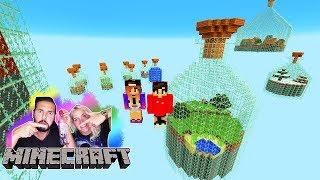 NINA + KAAN MÜSSEN IN FLASCHEN ÜBERLEBEN! World in a Jar Minecraft Überlebensmodus
