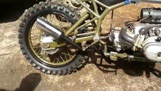 Выхлопная система на мой мотоцикл урал!