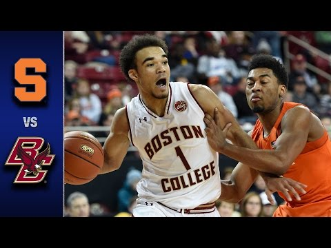 Syracuse vs. Boston College Men
