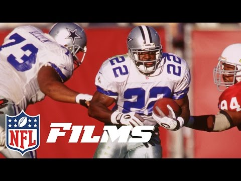 #5 Emmitt Smith | Top 10 Dallas Cowboys of All Time | NFL films