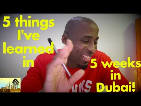 Black people in dubai