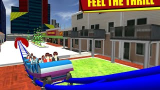 Drive roller coaster simulator Android GamePlay HD
