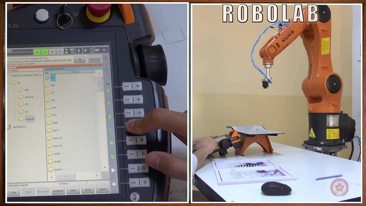 ROBOT PROGRAMLAMA BÖLÜM 6 UYGULAMA