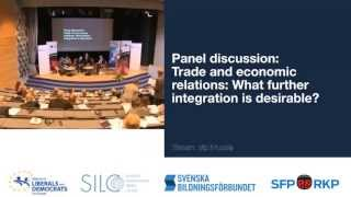 The Future of EU-Russian Relations, April 29, 2013, Panel discussion 2, Trade
