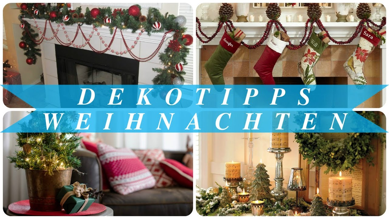 dekotipps weihnachten youtube. Black Bedroom Furniture Sets. Home Design Ideas