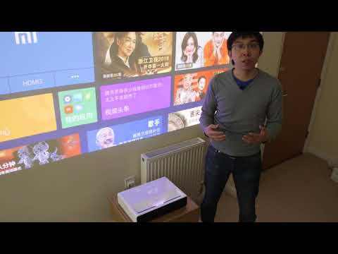 "Xiaomi Short-Throw Laser Projector Review: 150"" TV for Only $1800?"