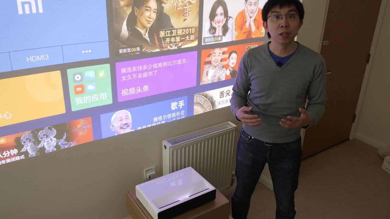 Xiaomi Short-Throw Laser Projector Review: 150