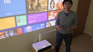 "Xiaomi Short-Throw Laser Projector Review: 150"" TV for Only $1825?"
