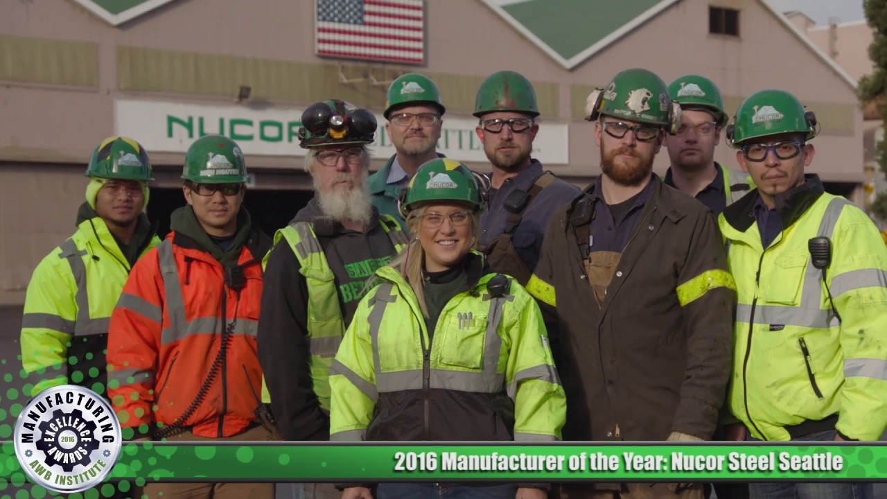 AWB's 2016 Manufacturer of the Year: Nucor Steel Seattle