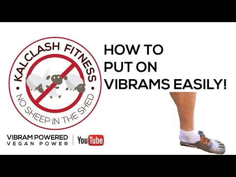 how-to-put-on-vibram-fivefingers-easily-and-quickly---barefoot-running-tips