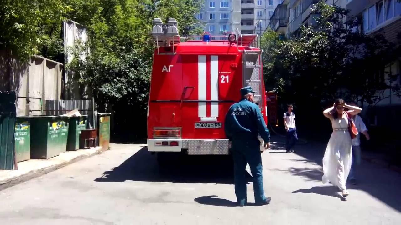Как работают пожарники МЧС