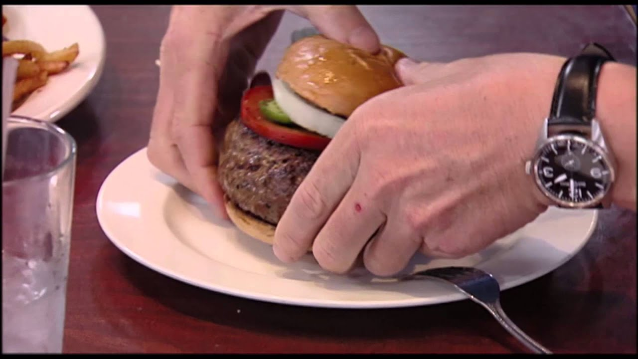 Gordon Can t Cowboy Burger in his Mouth Kitchen Nightmares