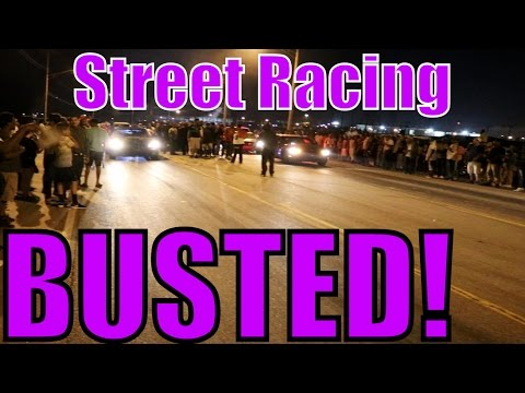 Memphis Street Racing - BUSTED by COPS!!
