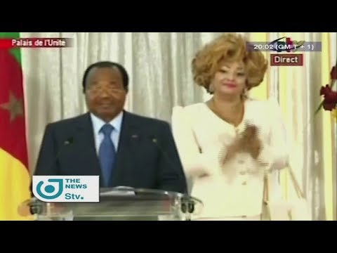 STV NEWS 08:00 PM - (Paul BIYA : AFCON 2019, CAMEROON WILL BE READY ON THE D-DAY) - 10th August 2017