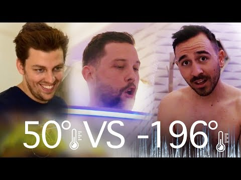 Se faire congeler à -196°C avec Pierre Croce et Anthony Lastella