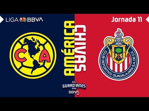 Club America Guadalajara Chivas Goals And Highlights