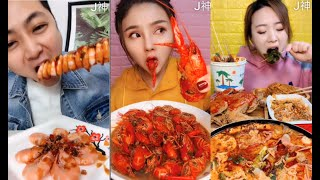 Mukbang eating show chinese, eat foods chinese Fast food strange 006  MUKBANG Big Eater Eating Show丨