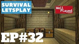 Minecraft Survival Letsplay Ep32 Potion Room!