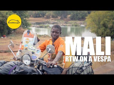 Vespa travel Mali