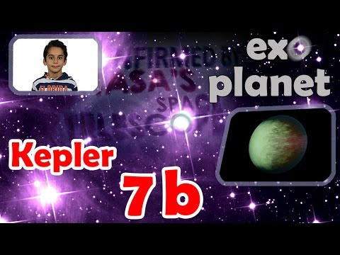 8 year old Atbin explains: Kepler-7b; one of the first five exoplanets to be confirmed