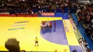 Magyarország - Románia 20:19 FINÁLÉ Női kézilabda Európa bajnokság