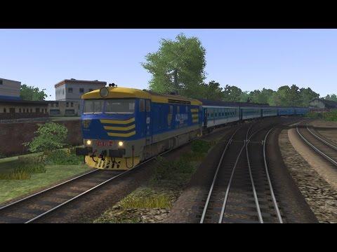 Train Simulator 2017 | Trať 070 Mladá Boleslav - Bakov nad Jizerou