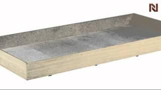 Nexera Alegria Twin Size Trundle Bed 5640