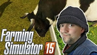 Karmimy krowy ^^ | Farming Simulator 2015 /Strażak
