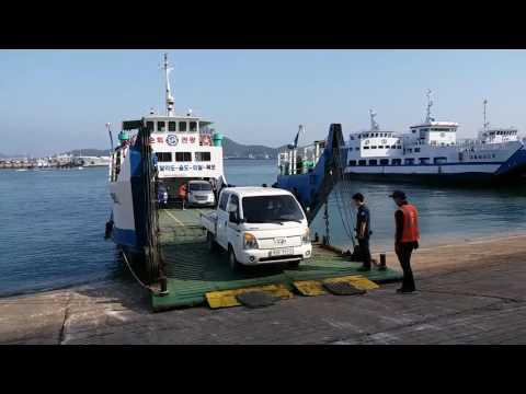 Loading Car to Passenger Ferry
