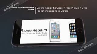 Laptop & Computer Repairing Companies in Oxford