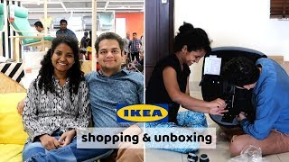 I Went to SHOP at IKEA India | Prices | Unboxing (IKEA GIVEAWAY)