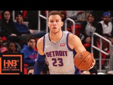 Detroit Pistons vs Charlotte Hornets Full Game Highlights / Feb 25 / 2017-18 NBA Season