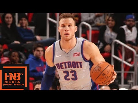 Detroit Pistons vs Charlotte Hornets Full Game Highlights / Feb 25 / 2017-18 NBA Season