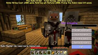 Minecraft With Deadlocked (S02) #1 | KING CRAB AND ENDERSPIDER ATTACK