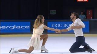 Gabriella Papadakis Guillaume Cizeron-Trophie Eric Bompard 2014 FP