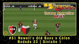 Winning Eleven 2000: Torneo Argentino 96/97 (PS1) ML #51 Newell