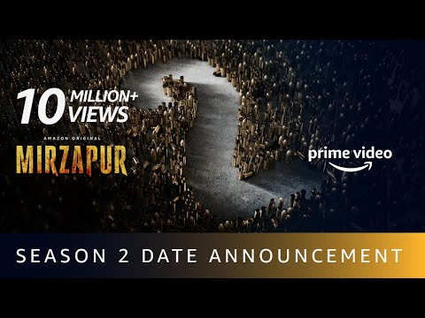 Mirzapur 2 - Release Date Announcement | Amazon Original