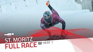St. Moritz | BMW IBSF World Cup 2020/2021 - Women's Skeleton Heat 1 | IBSF Official