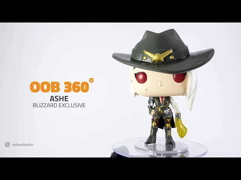 Ashe Blizzard Exclusive Funko Pop! | OOB 360 | Out Of Box Collector