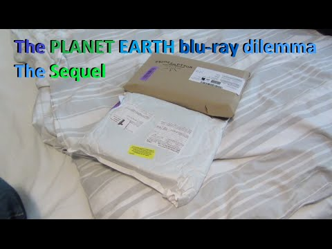 The exciting continuation of the Planet Earth blu-ray quandary