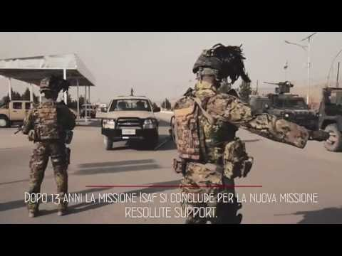 Esercito italiano- Resolute Support Afghanistan ISAF NATO