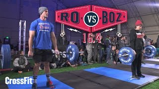 Repeat youtube video Ro Vs. Boz: Open Workout 16.4 in 4K