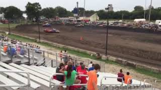Figure 8 Racing in Hampton @ 2pm 8/19/18 Cruisers Feature Pt 5