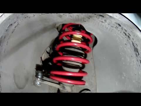 Ремонт подвески ВАЗ 2110  Сборка  Смотреть внимательно ( день четвертый)